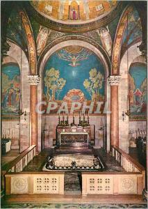 Moderne Karte Jerusalem Eglise des Nations dans le jardin de Gethsemani