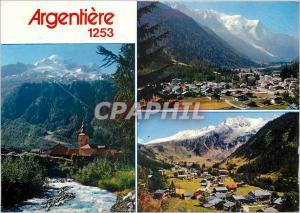 Moderne Karte Argentiere Hte Savoie