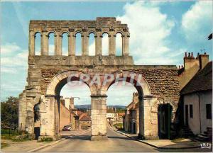 Moderne Karte Autun Porte romaine dite d'Arroux