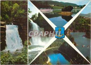 Moderne Karte Villers Le Lac Frontiere Franco Suisse Bassins du Doubs