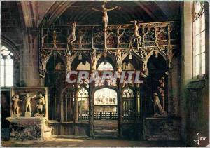 Moderne Karte Le Faouet Morbihan Chapelle Saint Fiacre le Jube