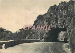 Moderne Karte Vallee de Munster Haut Rhin Le Col et le Tunnel de la Schlucht