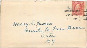 Lettre Cover Etats-Unis 2c 1916 Dunkirk cover