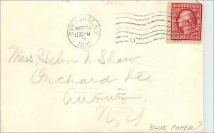 Lettre Cover Etats-Unis 2c Syracuse 1910 cover