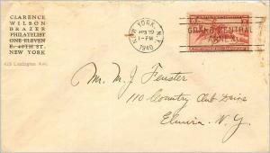 Lettre Cover Etats-Unis Pony Express 1940 New York cover