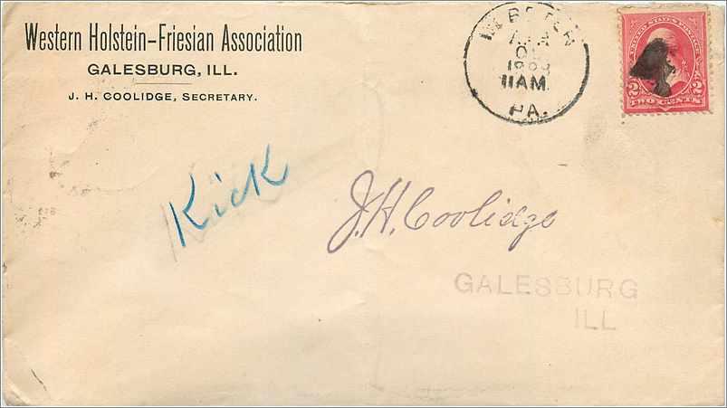 Lettre Cover Etats-Unis 2c Galesburg 1898 0