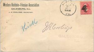 Lettre Cover Etats-Unis 2c Galesburg 1898