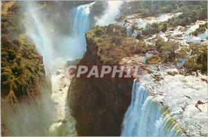 Moderne Karte Aerial view of the Devils cataract Rhodesia