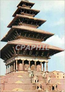 Moderne Karte Patrimoine culturel mondial Bhaktapur Vallee de Kathmandou Nepal