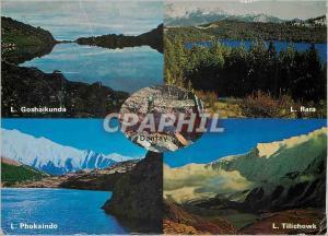 Moderne Karte Lakes