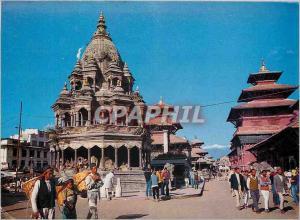 Moderne Karte Patan Durbar Square