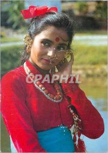 Moderne Karte Faces of Nepal Chhetri Girl