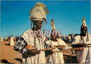 Moderne Karte Republique du Niger Musicians Maouris