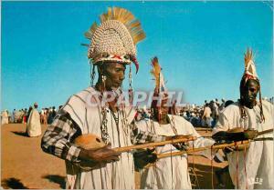 Moderne Karte Republique du Niger Musiciens Maouris de Dogondoutchi
