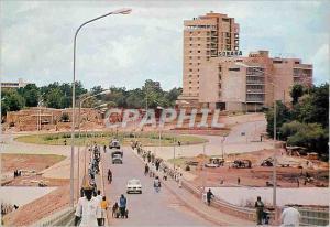 Moderne Karte Republique du Niger Niamey Place Kennedy et Gaoueye