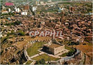 Moderne Karte Tudela Pamplona Vue aerienne