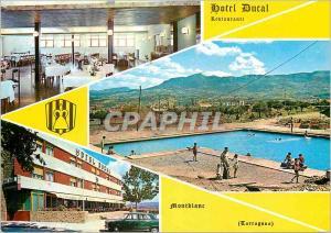 Moderne Karte Hotel Ducal Restaurante Mont Blanc Tarragona