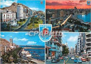 Moderne Karte Alicante busot