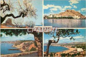 Moderne Karte Alicante  la cote blanche