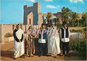 Moderne Karte Libya traditional dress