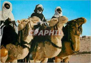Moderne Karte Libya touarek sul loro mahari
