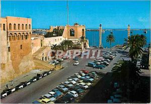Moderne Karte Tripoli general view