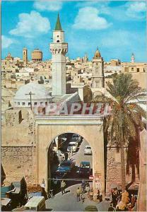 Moderne Karte Tripoli old city general view