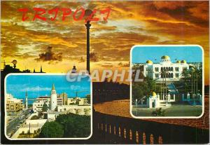 Moderne Karte Tripoli