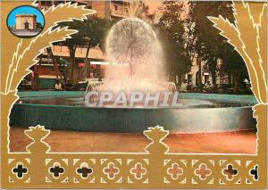 Moderne Karte Lybia benghasi vue de la fontaine au coucher