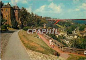 Moderne Karte Luxembourg Les Trois Tours
