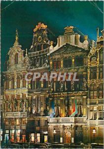 Moderne Karte Bruxelles un de la grand place