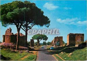 Moderne Karte Roma rue appia antica