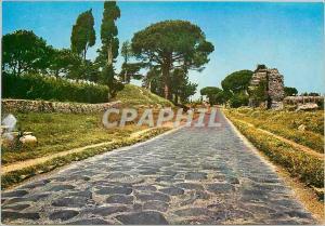 Moderne Karte Roma antique appla way
