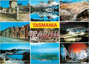 Moderne Karte Australia Tasmania Highlight of Australia's Island State