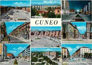 Moderne Karte Cuneo salutation de cuneo  m 534