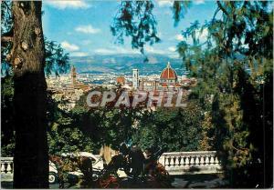 Moderne Karte Firenze une vue de s minlato al monte