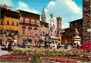Moderne Karte Firenze place de la signoria