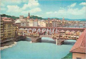 Moderne Karte Firenze ponte vecchio (vieux pont)