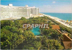 Moderne Karte Miami beach collins avenue florida the fontainebleau hilton