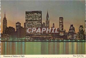 Moderne Karte New york city this panoramic view of mid manhattan