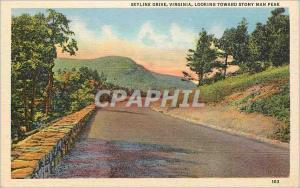 Ansichtskarte AK Skyline Drive Virginia Looking Toward Stony Man Peak