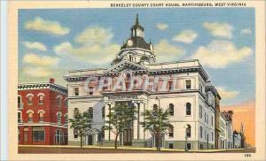 Ansichtskarte AK West Virginia Martinsburg Berkeley County Court House