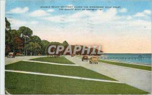 Moderne Karte Double Beach Driveway Along the Mississippi Gulf Coast The beauty spot of America