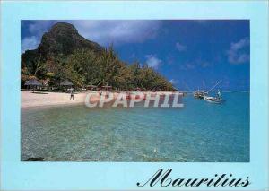 Moderne Karte Ile Maurice Plage du Meridien