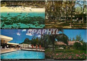 Moderne Karte Ile Maurice Qautre des Hotel du Mauritius Hotels Group
