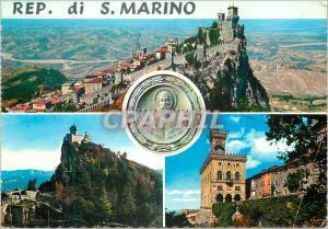 Moderne Karte Rep di S Marino