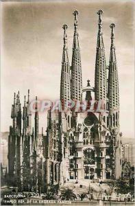 Moderne Karte Barcelona Templo Exp de la Sagrada Famila Talleres A Zerkowitz Fotografo Tel Barcelona Prohibida