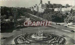 Moderne Karte Madrid Plaza de Canovas del Castillo y Paseo del Prado Postales Bea Pep Madrid Prohibida la repr