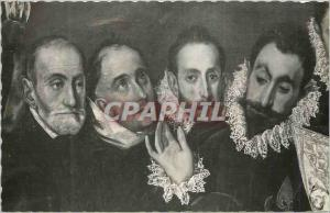 Moderne Karte Toledo Toledo Entierro de Conde de Orgaz San Agustin San Esteban y el Conde de Orgaz El Greco