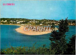 Moderne Karte La Coruna Plage de Sainte Christine